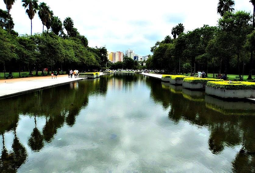 Espelho d'Água, no Parque da Redenção