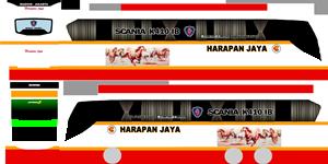 Livery Harapan Jaya K410iB WSP