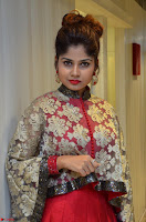Anya South Actress model in Red Anarkali Dress at Splurge   Divalicious curtain raiser ~ Exclusive Celebrities Galleries 033.JPG