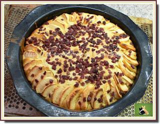 Vie quotidienne de FLaure : Gâteaux moelleux à la pomme et aux pépites de cranberries