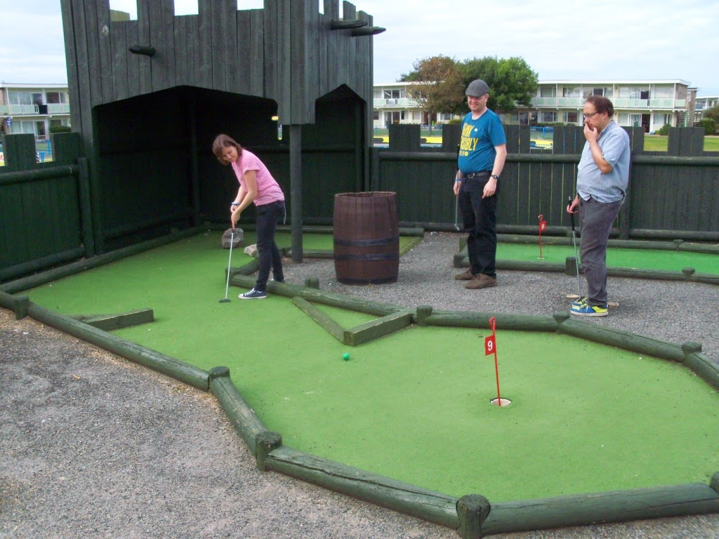 Crazy Golf at Pontin's Prestatyn Sands Holiday Park
