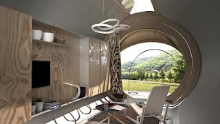 Casa móvil ecológica para viajeros.