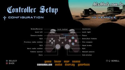 gta sa san mod skyui console menu joypad joystick support