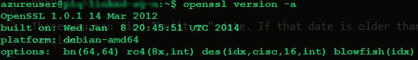 Open SSL Old Version