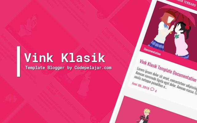 Vink Klasik - Template Blogger Responsive