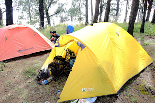 Sewa Tenda Great Outdoor kapasitas 4 orang