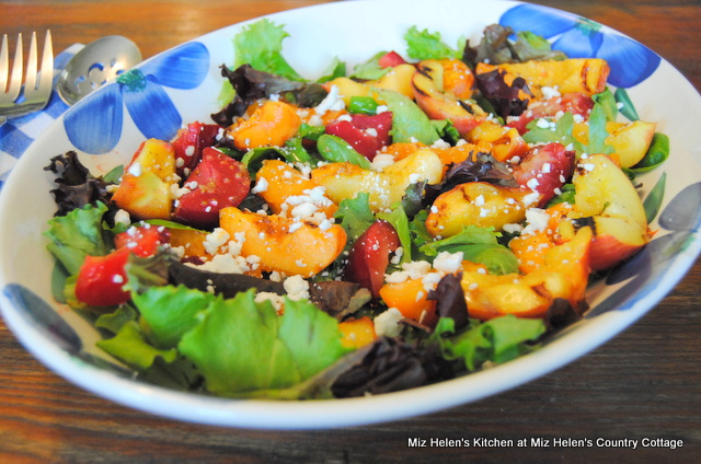 Grilled Fruit Salad at Miz Helen's Country Cottage
