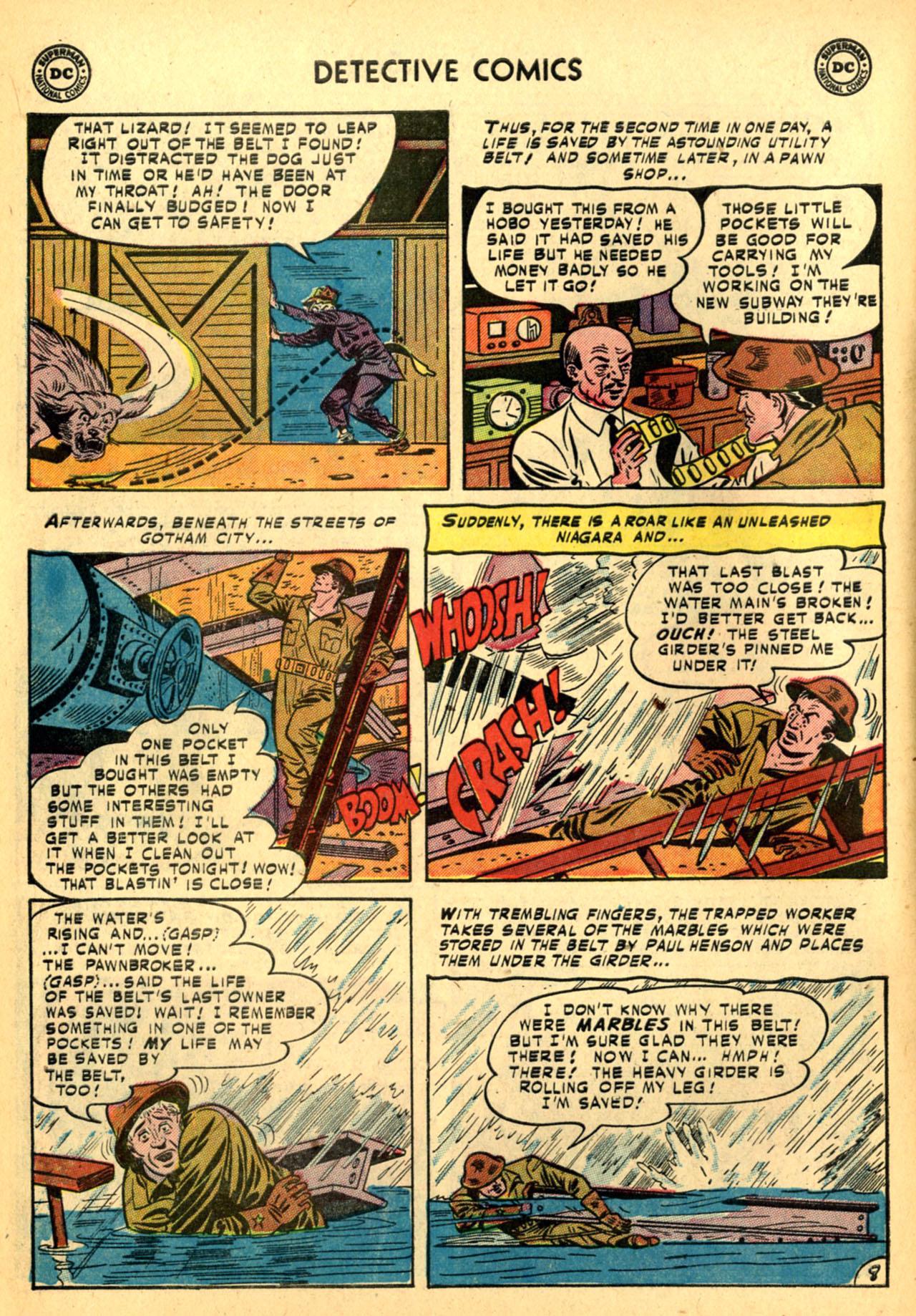 Detective Comics (1937) 185 Page 9