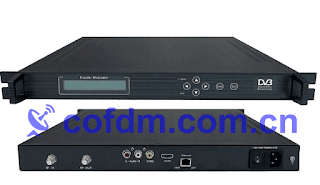 COFDM DVB-T encoder TV modulator