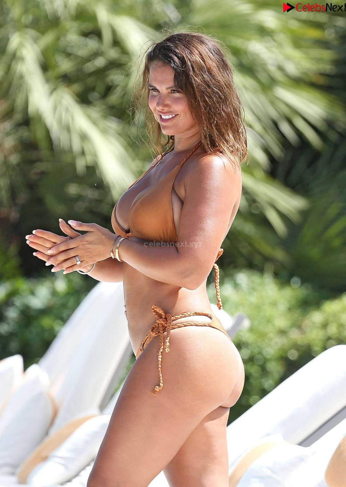Rebekah Vardy  Booty sexy smooth ass in Bikini September 2018