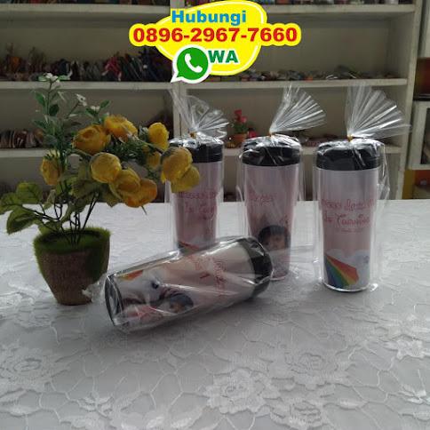 souvenir pernikahan tumbler murah 53083