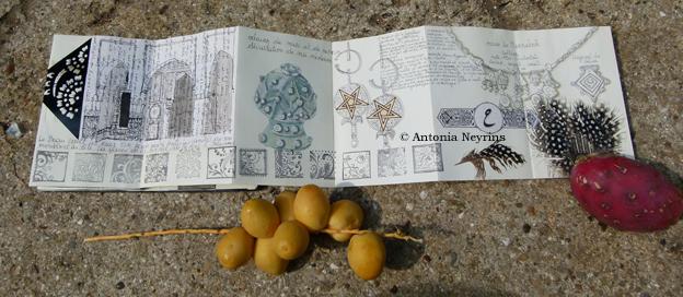 partir seul antonia neyrins carnets de voyage carnet