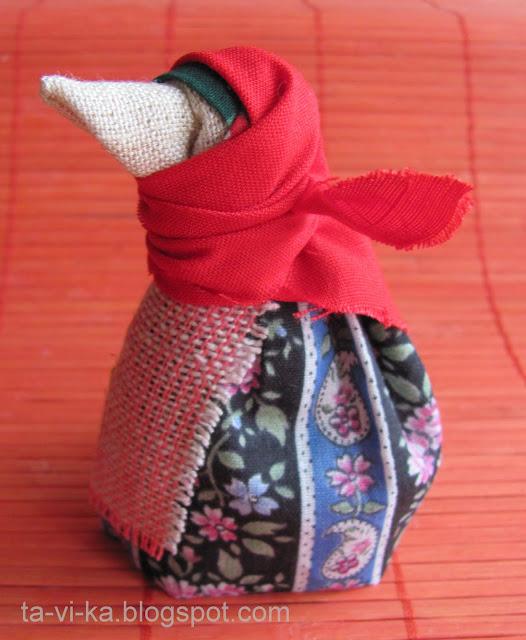 народная кукла сорока-ворона