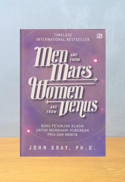 MEN ARE FROM MARS WOMEN ARE FROM VENUS, John Gray