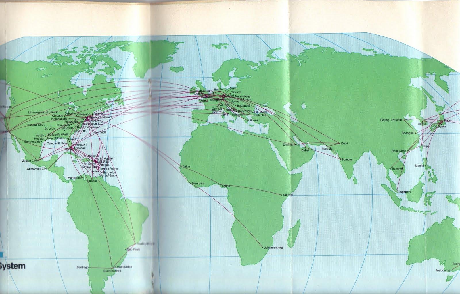 Airlines Past & Present: Pan Am April 1985