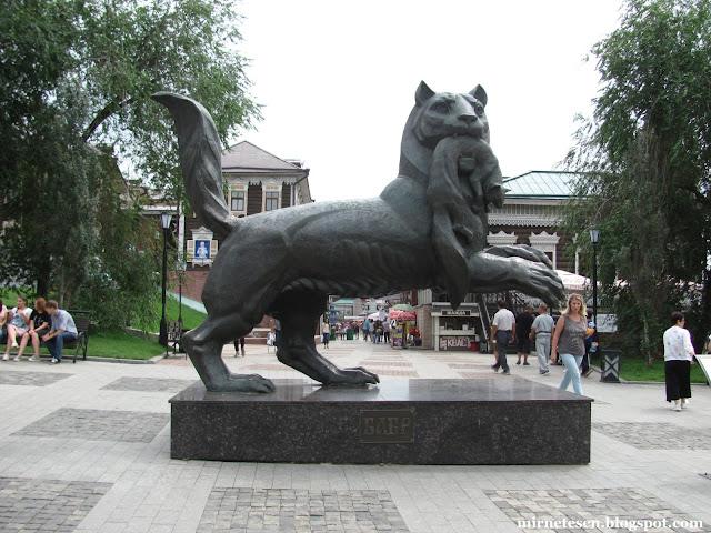 Иркутск - кто такой бабр, и где его искать?