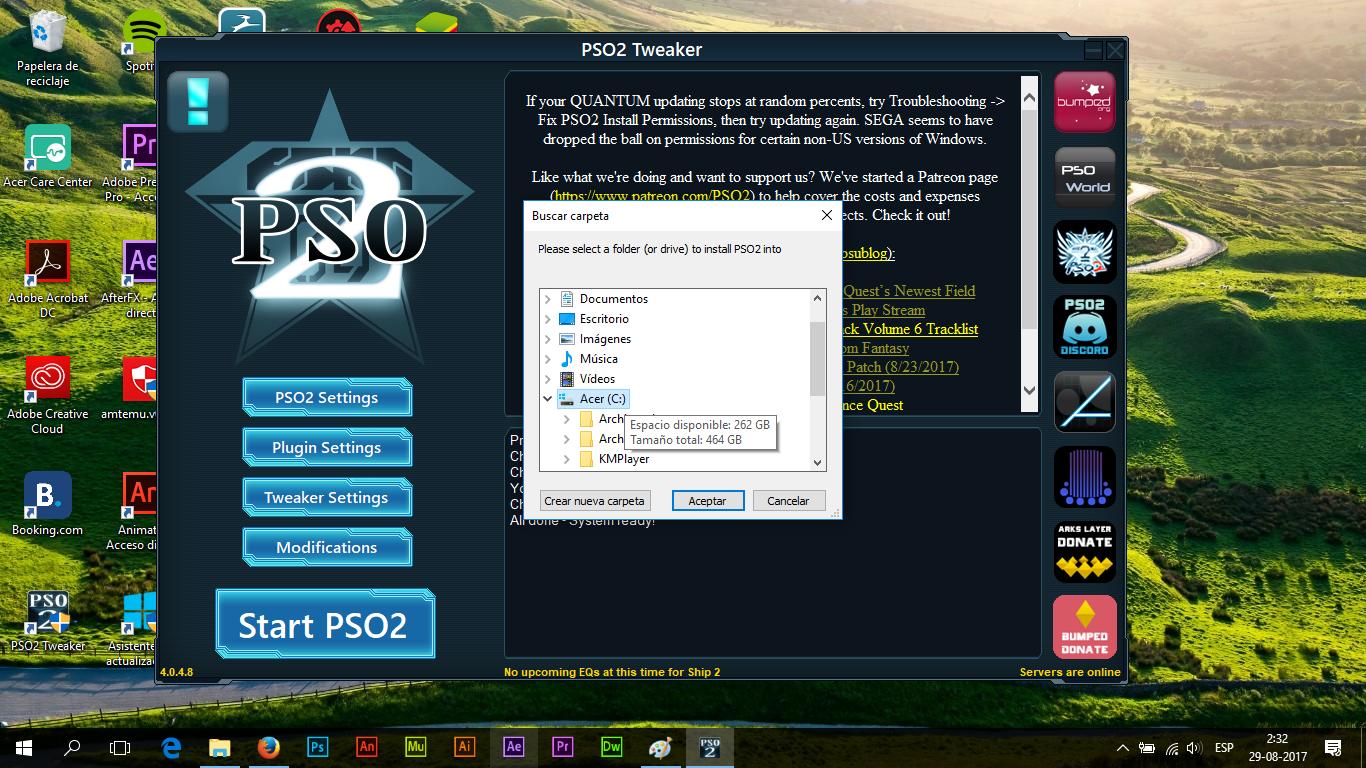 PSO2 Guías: Guías en Español de Phantasy Star Online 2: Descargar ...