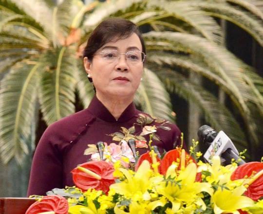 Chủ tịch HĐND TP Nguyễn Thị Quyết Tâm