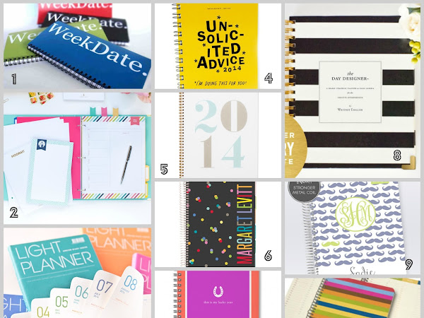 10 Best // Planners for the New Year