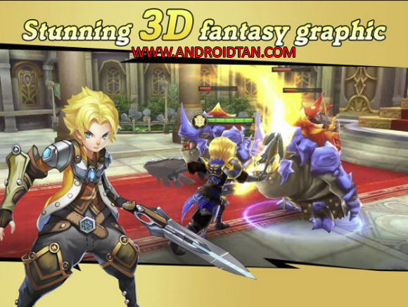Final Clash 3D FANTASY MMORPG Mod Apk for Android
