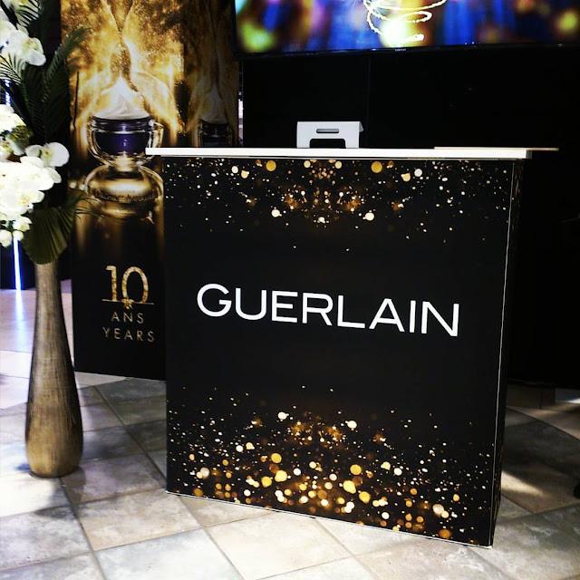 10 ans pour #OrchidéeImpériale de Guerlain au Carrefour Laval #GuerlainCanada