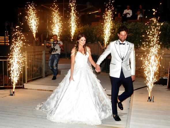 Gizem Karaca și Kemal Ekmekçi s-au casatorit!