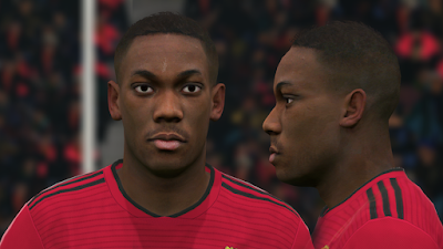 PES 2017 Faces Anthony Martial by Ben Hussam FaceMaker