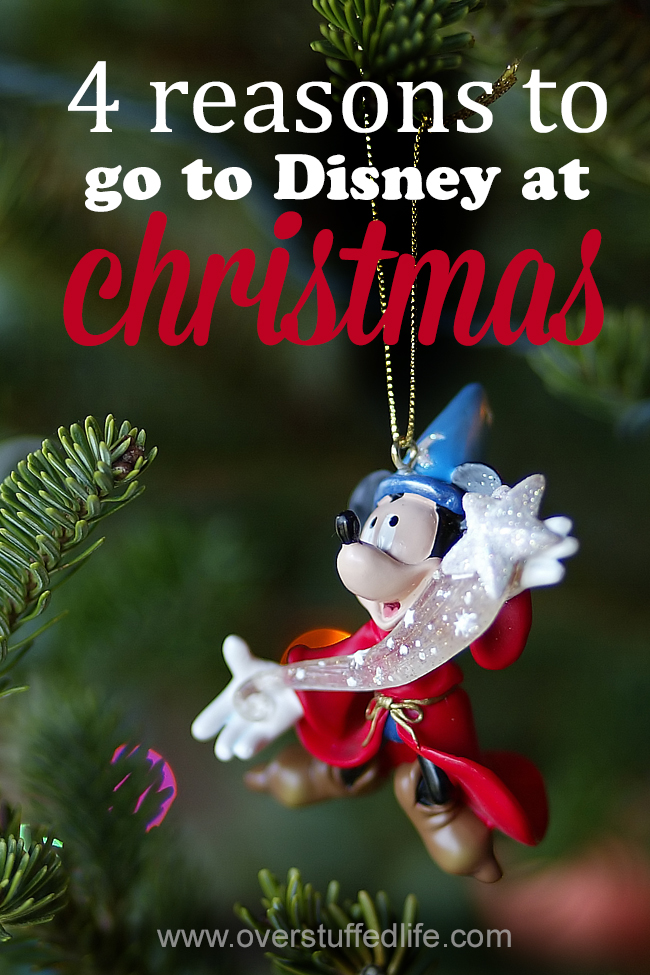 Want to go to Disneyland or Disney World at Christmas time, but not sure it's right for you? Here are some great reasons to plan your Disney trip during the Christmas holiday.