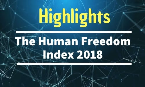 Highlights: The Human Freedom Index 2018