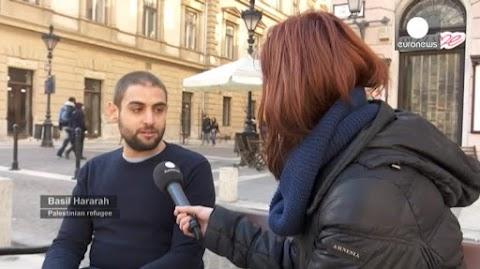 Zsidózó arab migráns a Soros-egyetem alkalmazottja