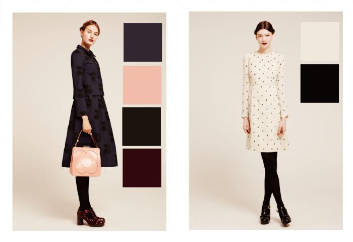 Illustrated Moodboard: Orla Kiely Autumn Winter 2014 Colour