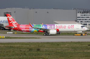 1st A321N for AirAsia