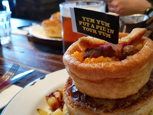 Switching up Sunday lunch with Pieminister