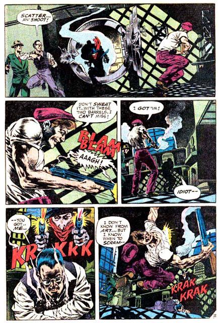 The Shadow v2 #3 - Bernie Wrightson dc 1970s bronze age comic book page art