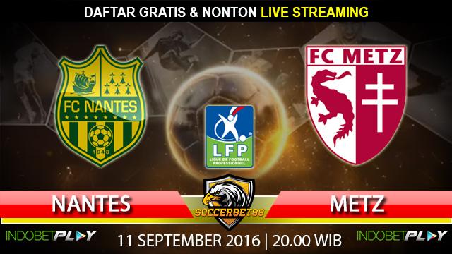 Prediksi Nantes vs Metz 11 September 2016 (Liga Prancis)