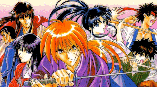 Samurai X - Anime Tokoh Utama Pura-pura Lemah
