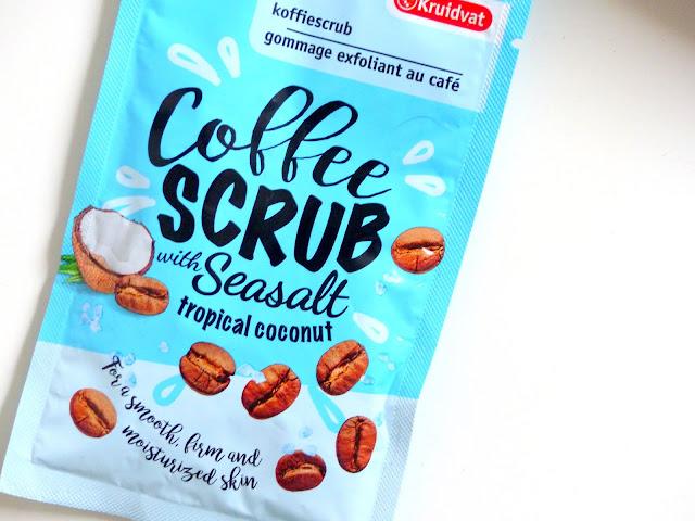 Review: Kruidvat Koffiescrub / Coffeescrub