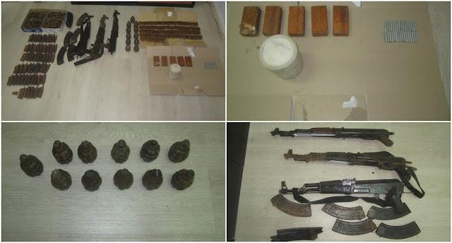 Θεσπρωτία: Εντοπίστηκε βαρύς οπλισμός, χειροβομβίδες, εκρηκτικές ύλες και πυρομαχικά, στο Μαυρομάτι, κοντά στα Ελληνοαλβανικά σύνορα (+ΦΩΤΟ)