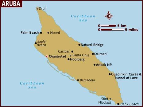 Mapas de Aruba | Holanda