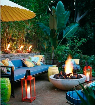 Las velas añaden energía a cualquier ambiente.