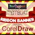 Tutorial CorelDraw Vektor - Membuat Banner Pita dengan CoreDraw