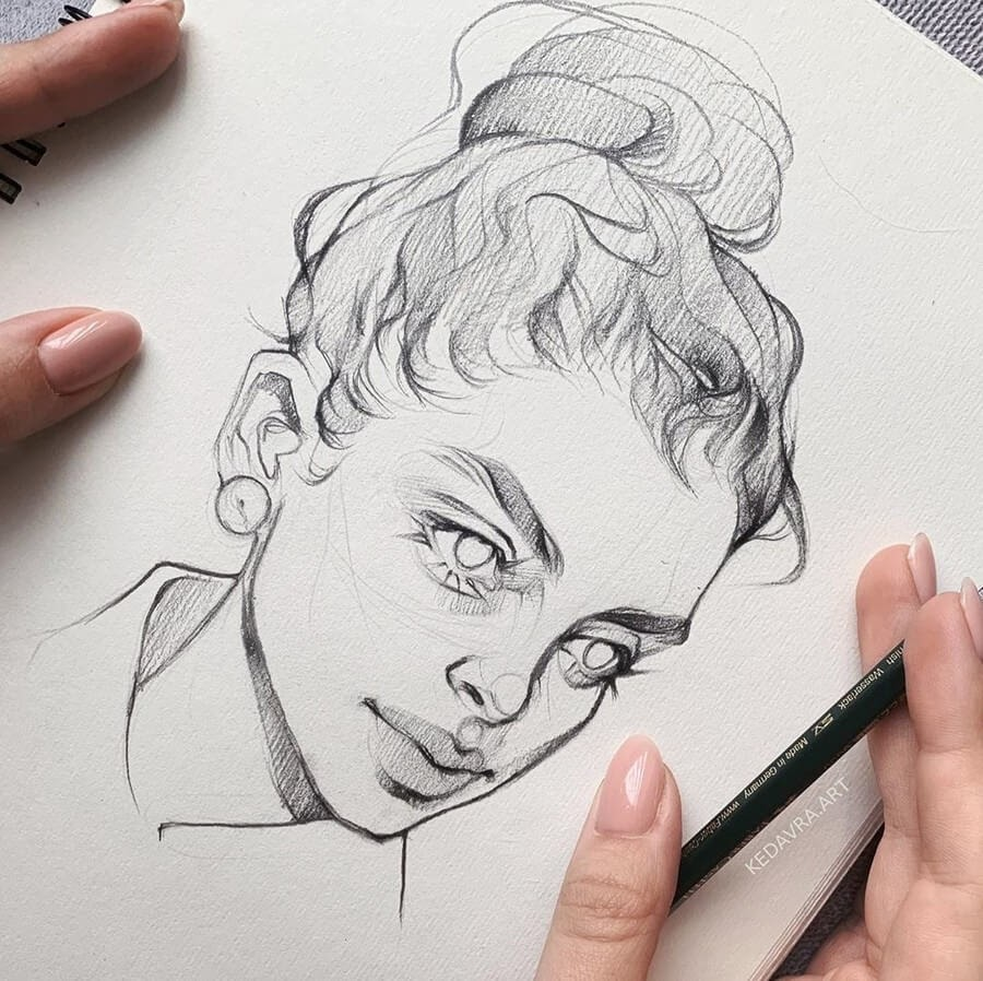 06-Alena-Kedavra-Pencil-and-Charcoal-Portrait-Drawings-www-designstack-co