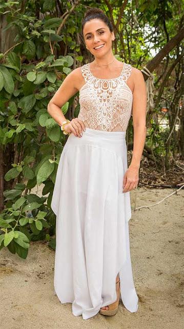 Alice (Giovanna Antonelli) figurino casamento