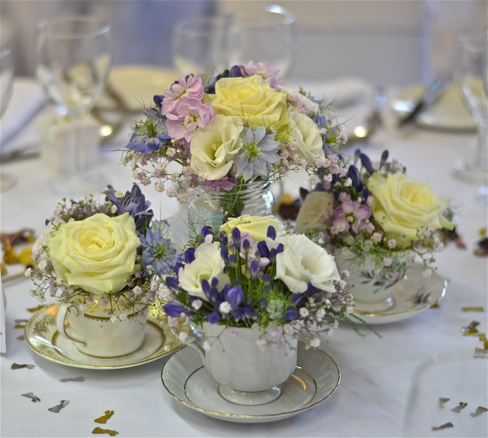 Country Wedding Ideas Flowers: Wedding Flowers Blog: Laura's Vintage, English Country