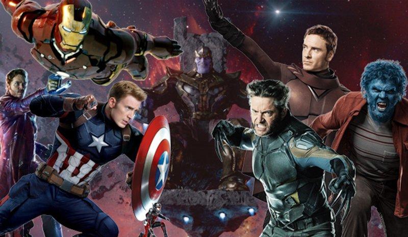Avengers dan X-Men Disney