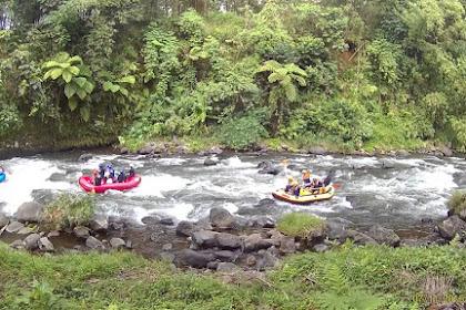 Tiket Masuk dan Lokasi Arung Jeram Sungai Rompang Randudongkal Pemalang