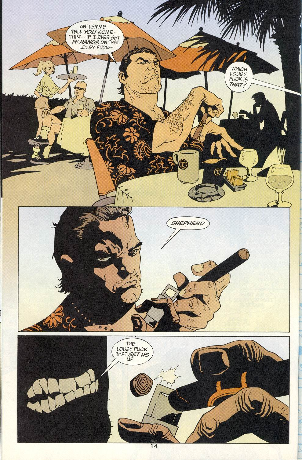 Read online 100 Bullets comic -  Issue #8 - 15