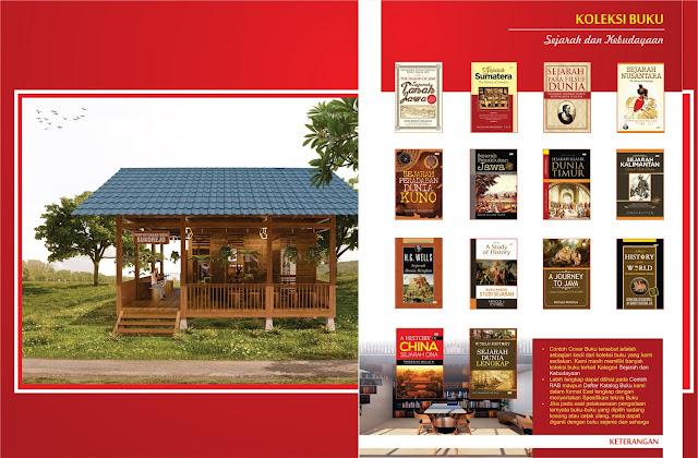Buku Sejarah dan Kebudayaan Untuk Perpustakaan Desa