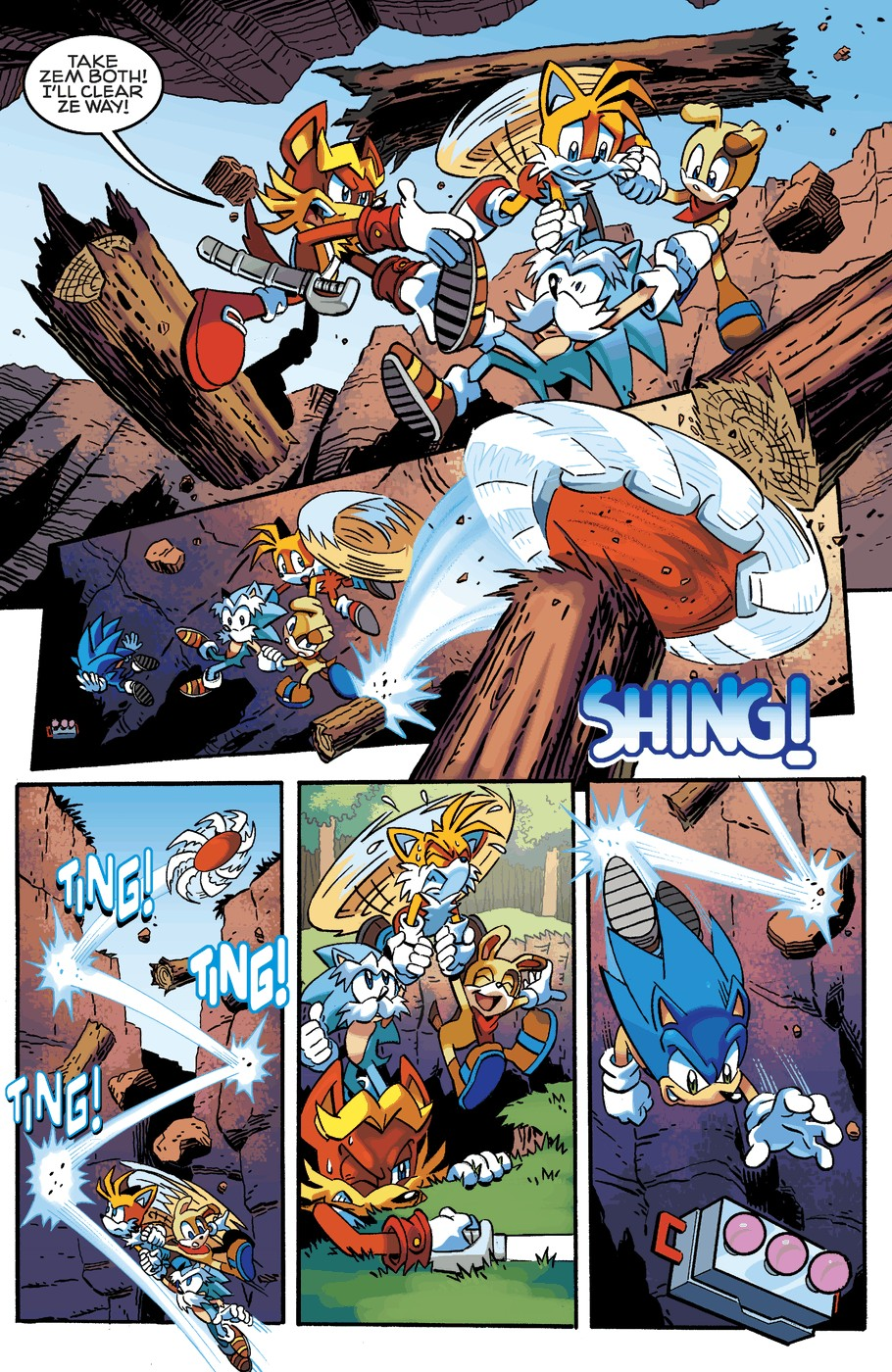 Read online Sonic The Hedgehog comic -  Issue #254 - 17