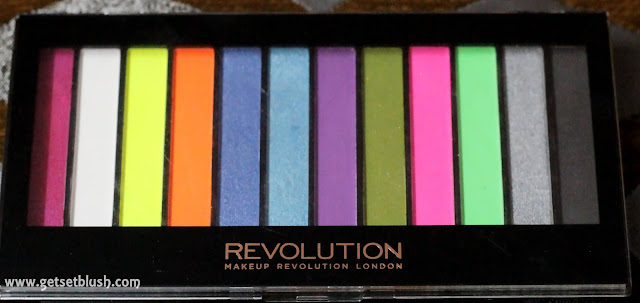 Makeup Revolution Acid Brights Palette Review , Swatches